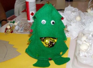 Tree lolly bag