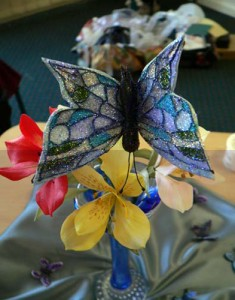 Jewelled butterflies