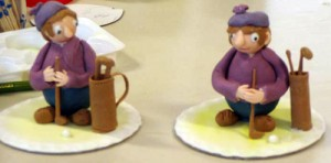 Moulded figures