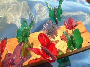 Gelatine butterflies