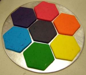 Powder colours