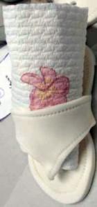 Hannah's sandals