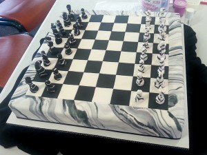 Chessboard and making moulds