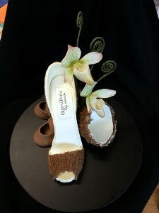 Stilettos for cake toppers