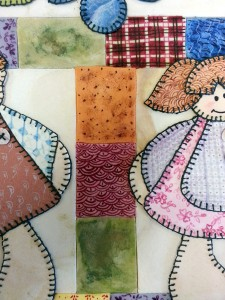Patchwork for cakes