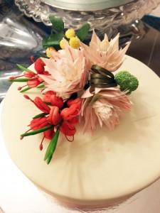Blushing Bride Protea workshop