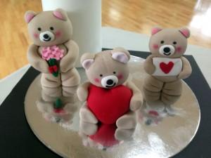 Valentine's Day teddy bears