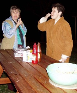 Lyne Fuller and Jacky Davidson